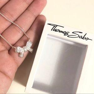 Thomas Sabo Bow Necklace